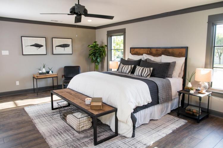 45 Cozy Farmhouse Bedroom Design Ideas