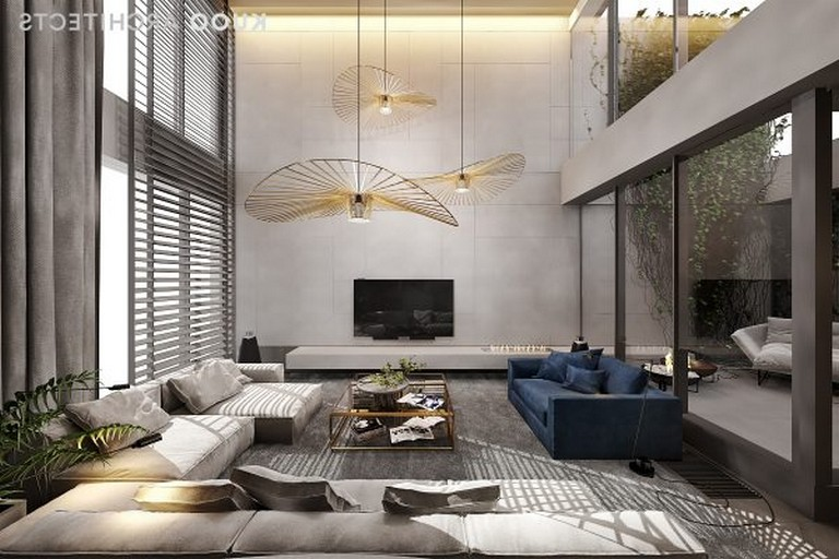 30 Stuning Apartment With Comfortable Furniture And A Double Height Ceiling Page 9 Of 32