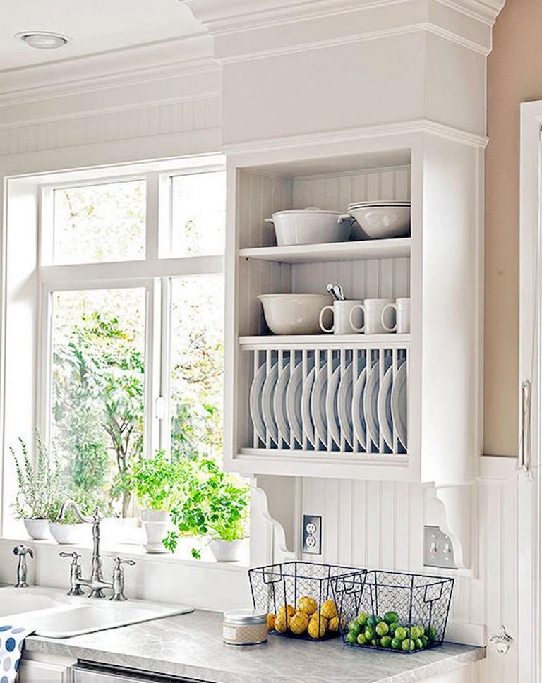 80 easy kitchen decor with open shelves ideas