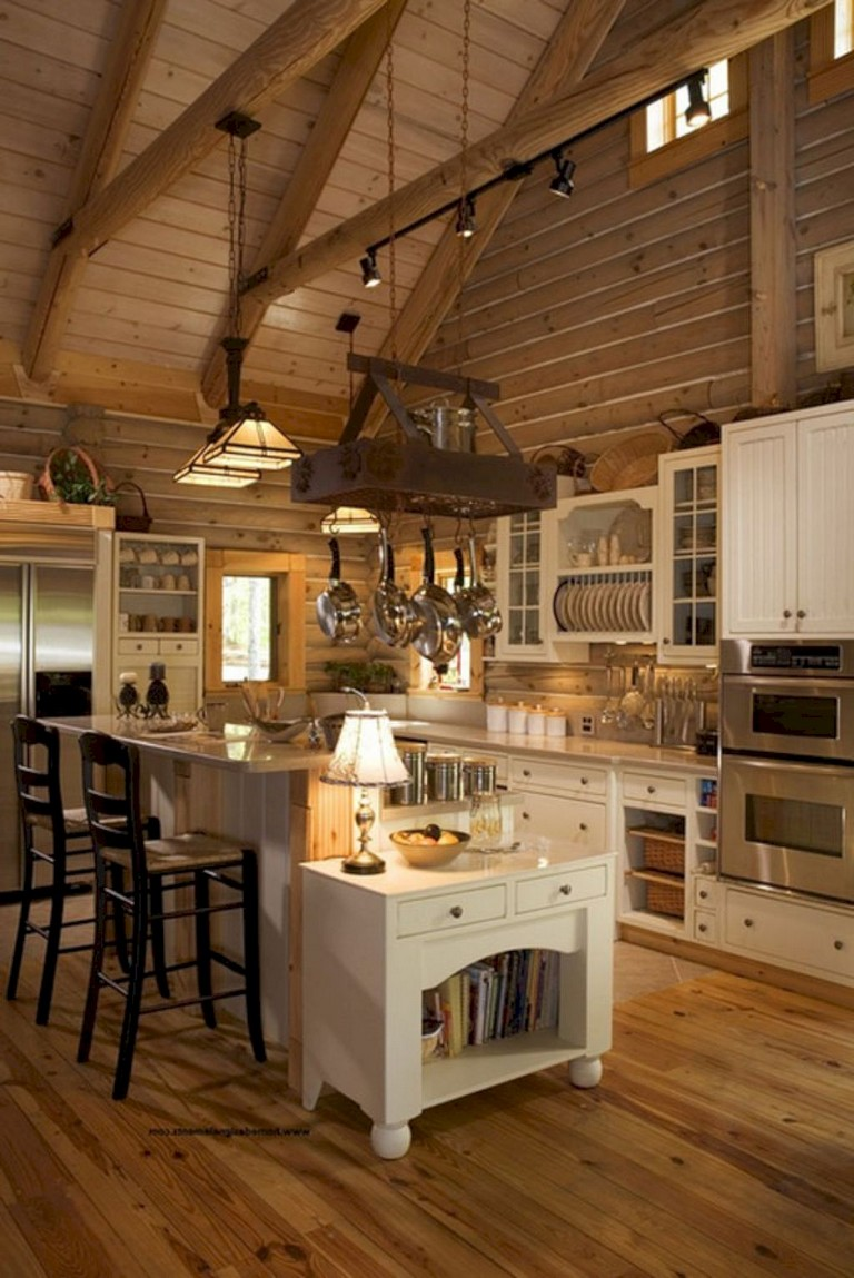 20+ brilliant Rustic Farmhouse Kitchen Island Ideas - Page ... on Rustic Farmhouse Kitchen  id=60310