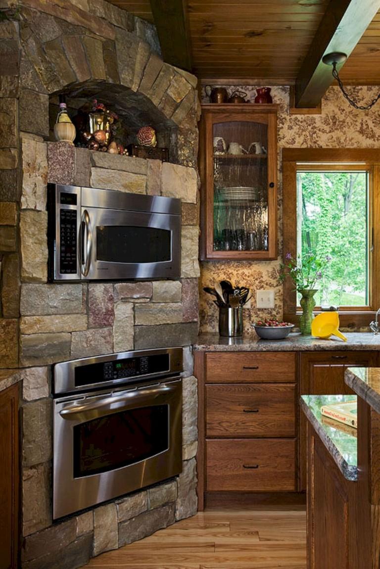 20+ brilliant Rustic Farmhouse Kitchen Island Ideas - Page ... on Rustic:yucvisfte_S= Farmhouse Kitchen Ideas  id=17647