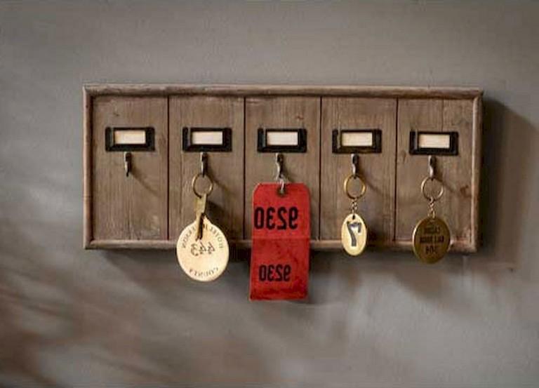 45 beautiful rustic diy key holder ideas  page 45 of 50