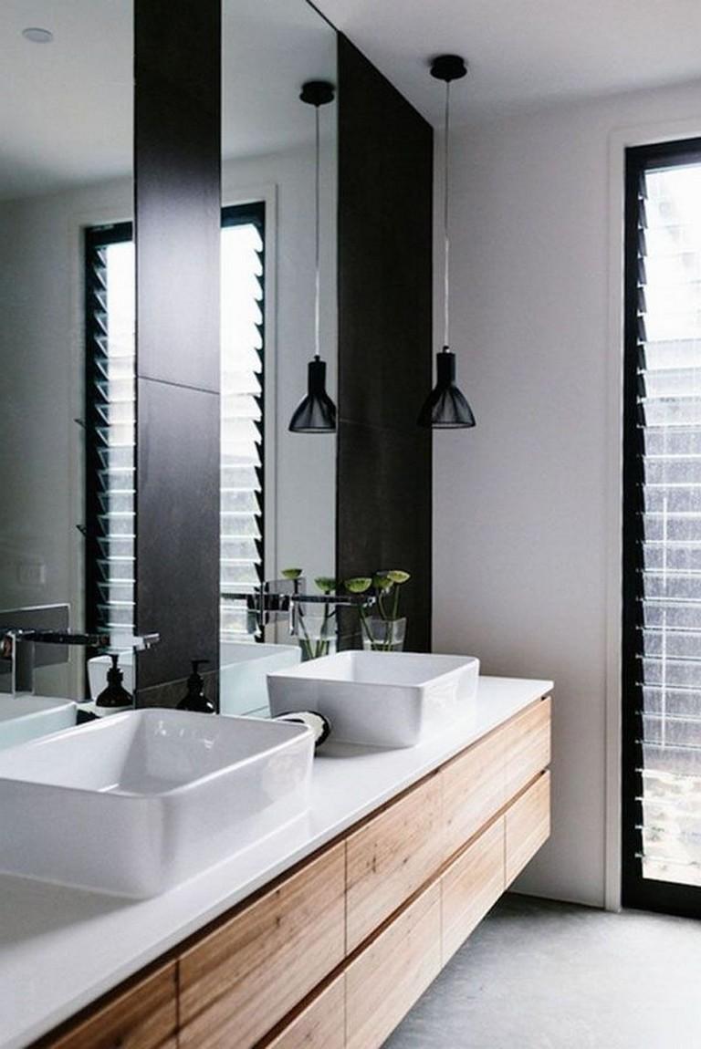 55 Minimalist Bathroom Interior Design Ideas