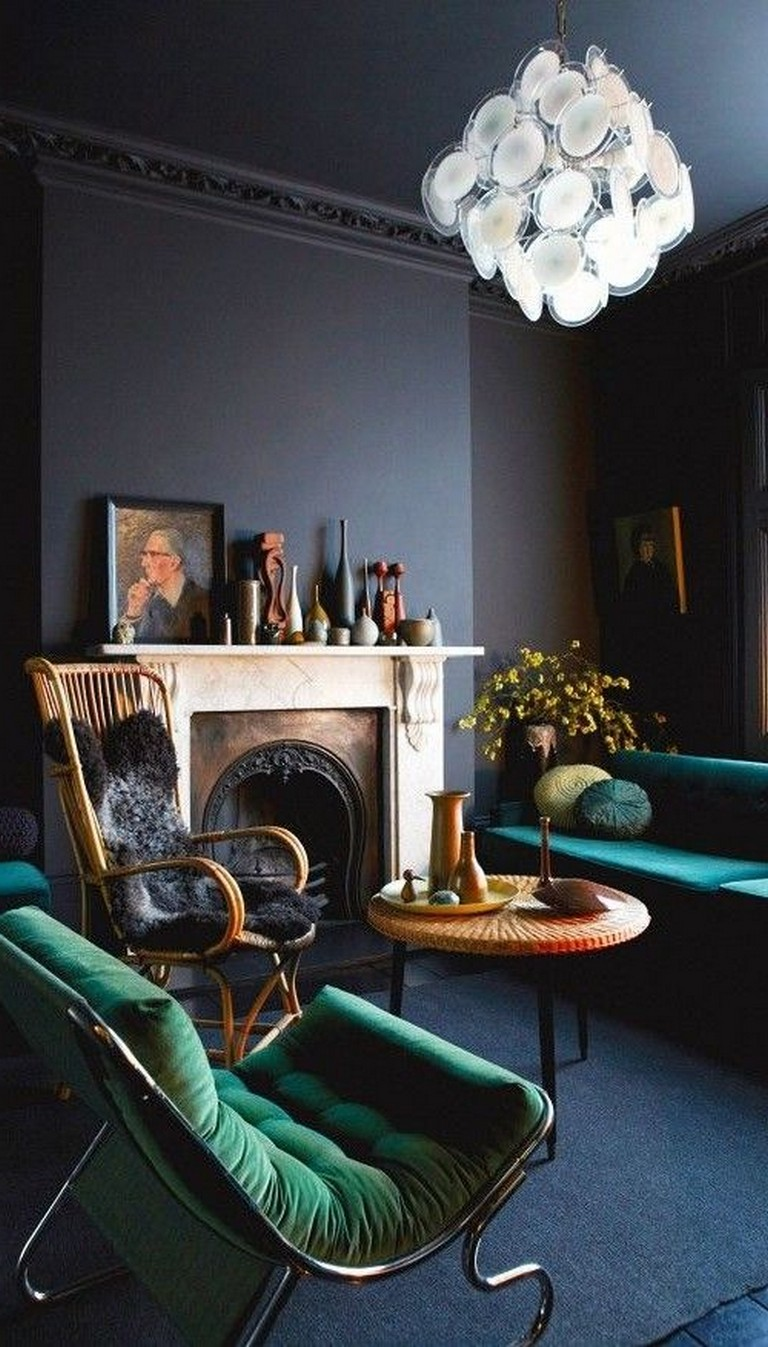 Dark Living Room Ideas: 25+ Amazing Dark Moody Living Room Decor Ideas