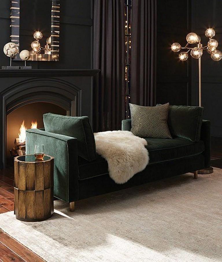 Minimalist Exterior Home Design Ideas: 25+ Amazing Dark Moody Living Room Decor Ideas